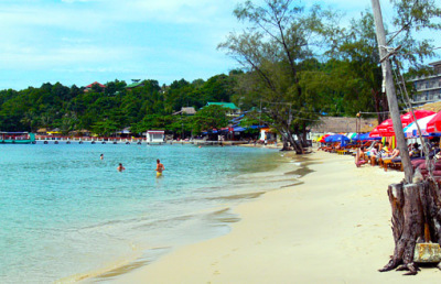 Beach for retirement in Cambodia