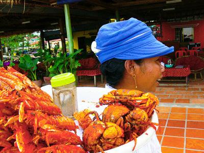 Beachfood in Sihanoukville