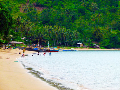 Seaside in the Philippines