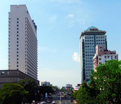 Sakura Tower Yangon Sky Bar Top right
