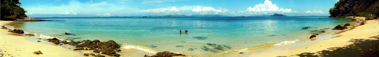 Krabi island beach