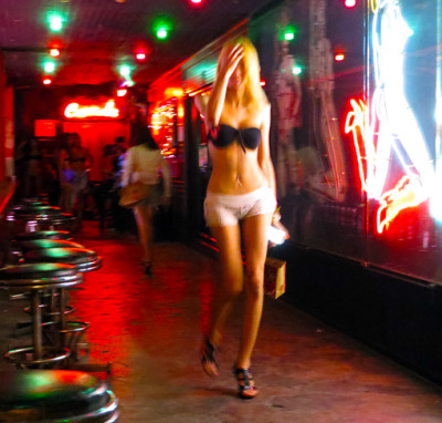 ladyboys at Bangkok nightlife