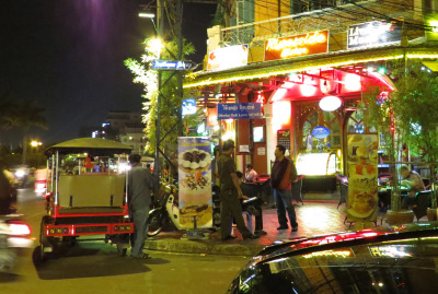 Cambodia nightlife in Phnom Penh