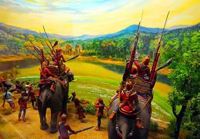 part of Thai Burmese war