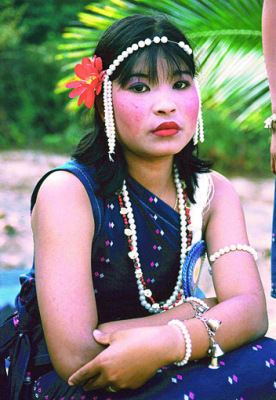 south Myanmar girl