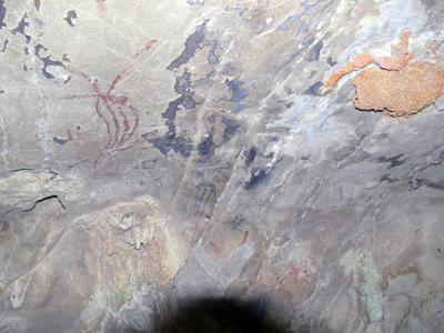 cave paintings show trang history