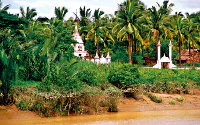Idyllic Pazundaung Creek