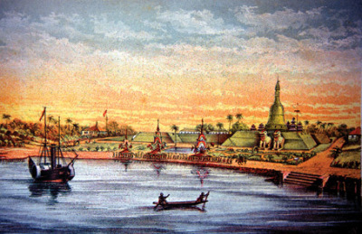 Old Yangon River