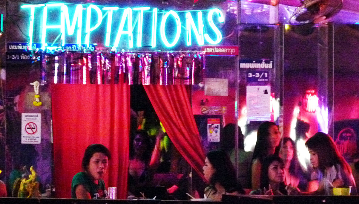 Bangkok nightlife at Nana Plaza