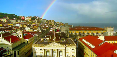 The old Lisbon City