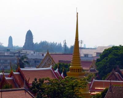 Ayutthaya view from the hotel
