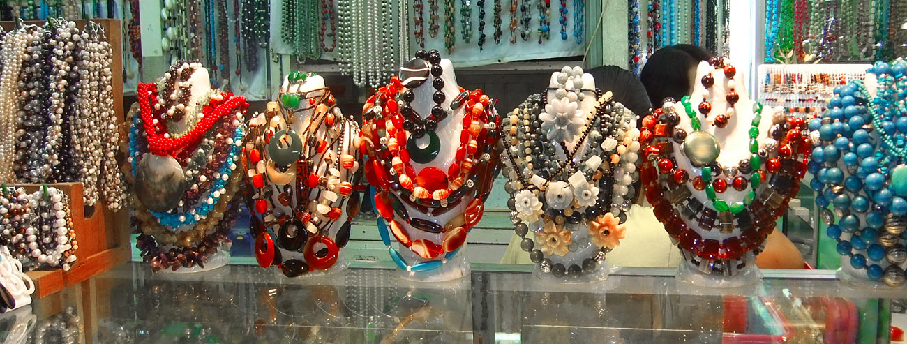 Ethnic jewelry from Myanmar