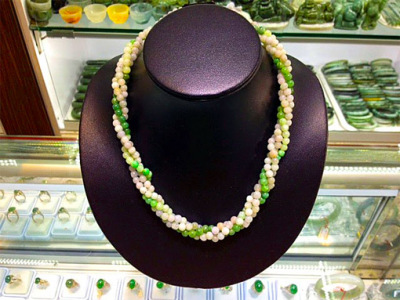 jadeite jewelry necklace