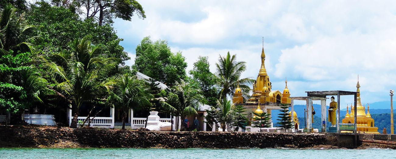 Andaman Island in Myanmar