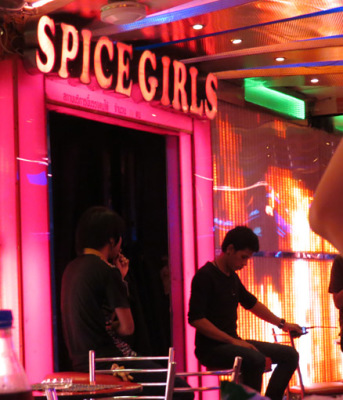 spice girls at soi cowboy