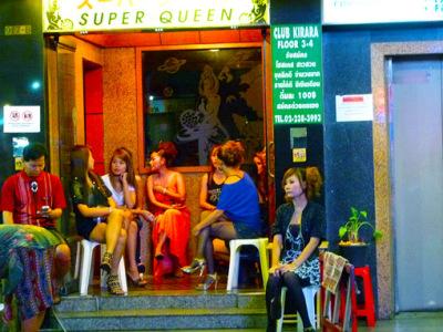 Nightlife at Thaniya Plaza Bangkok
