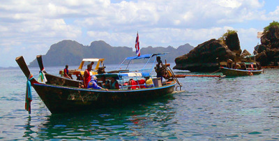 Trang islands day tour