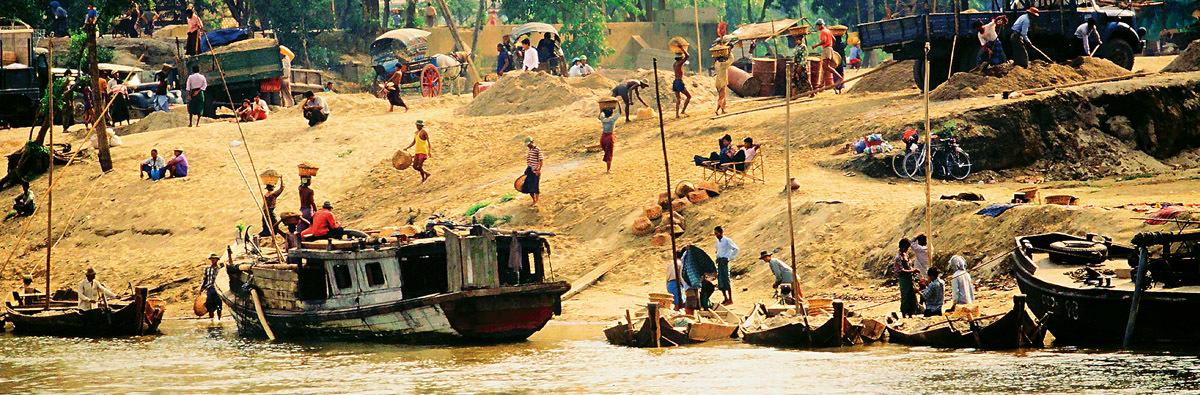 Mandalay to Bagan on the Irrawaddy