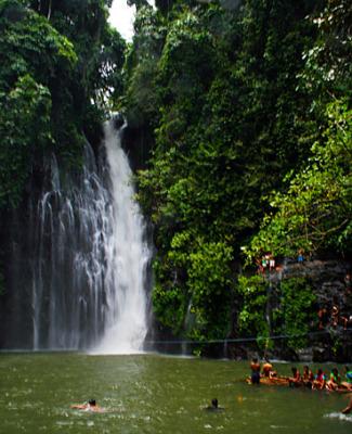 Mindanao waterfall at Iligan