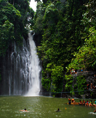 Mindanao waterfall at Iligan