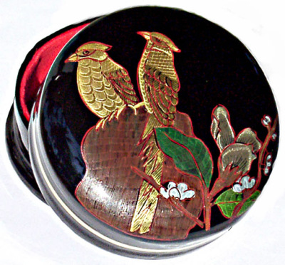 Bagan lacquerware box