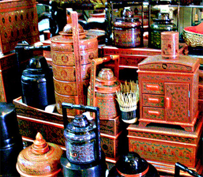 lacquer creations for the local market