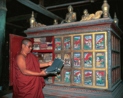 Bagan monastery