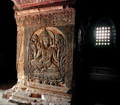 Bagan temple interior