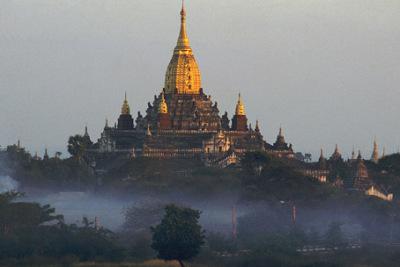 Monumental Ananda Temple