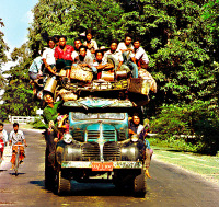 Yangon to Bagan people mover