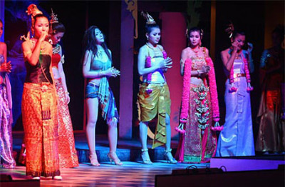 Thailand night at Loi Kratong