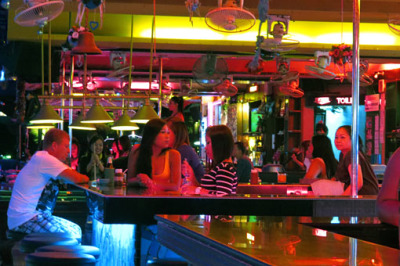 Pattaya bar and nightclubs
