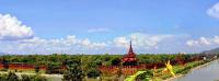 Mandalay Palace seen from the Sedona Hotel