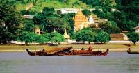Irrawaddy River at Mandalay