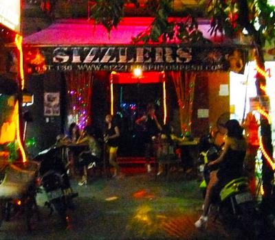 Phnom Penh Nightlife 136 Street