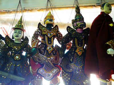 Myanmar Puppets
