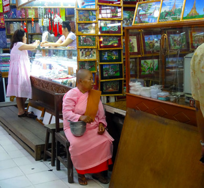 Simple Myanmar paintings for sale