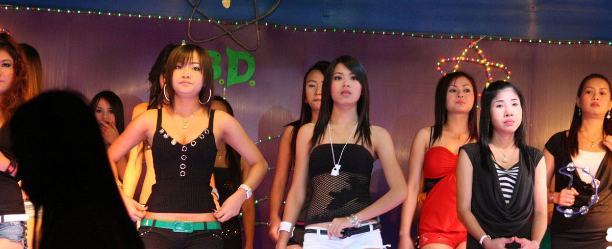 sexy girls in ASEAN nightlife
