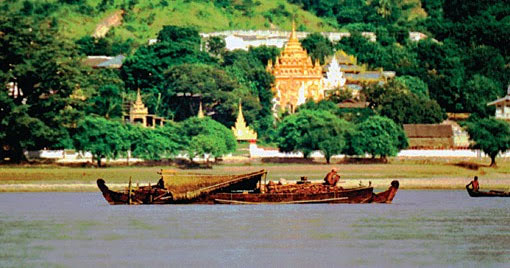 Irrawaddy River at Mandalay