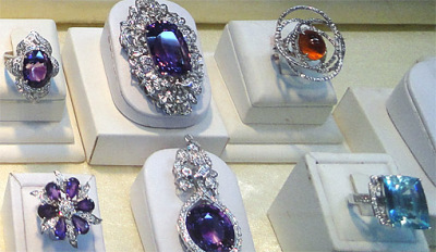 Exotic Gemstones at Bogyoke Market