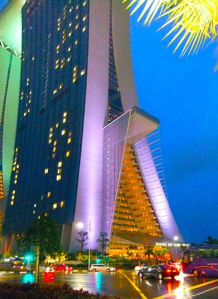 singapore sands hotel casino mall