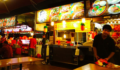 singapore open air food court