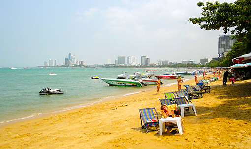 Pattaya Klang Beach