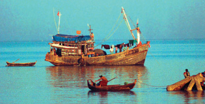 Sittwe harbor