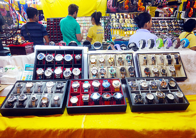 Bangkok Patpong Night Market Fakes