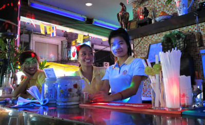 A cocktail at Patpong