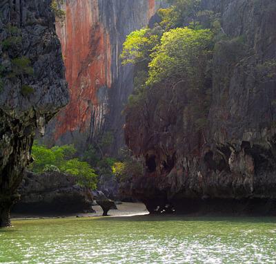 limestone island beach