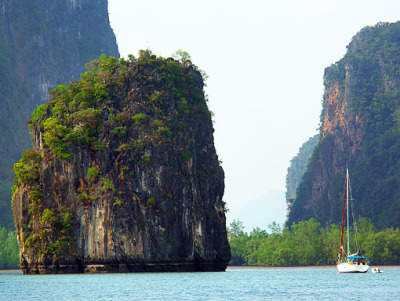 sailing around Phuket