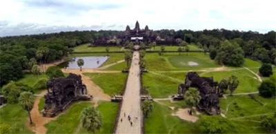 Angkor Wat Front Building