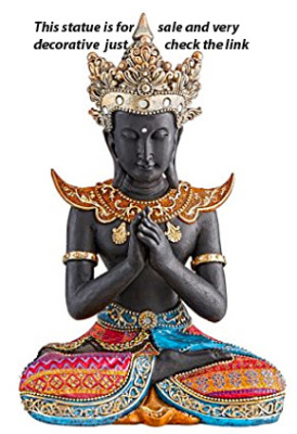 Thai Buddha Statue Sukhothai Style